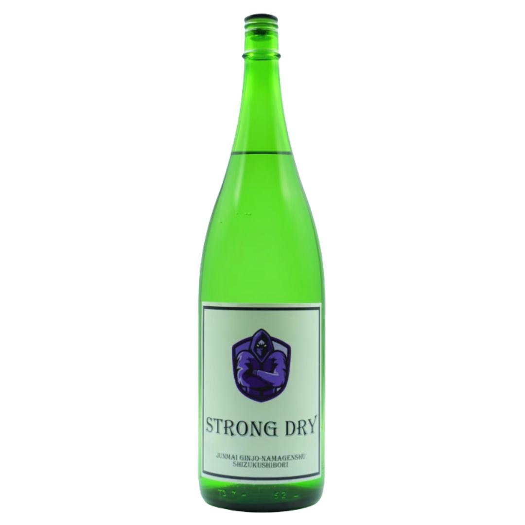 純米吟醸 生原酒 しずくしぼり 山鶴ストロングドライ1.8L