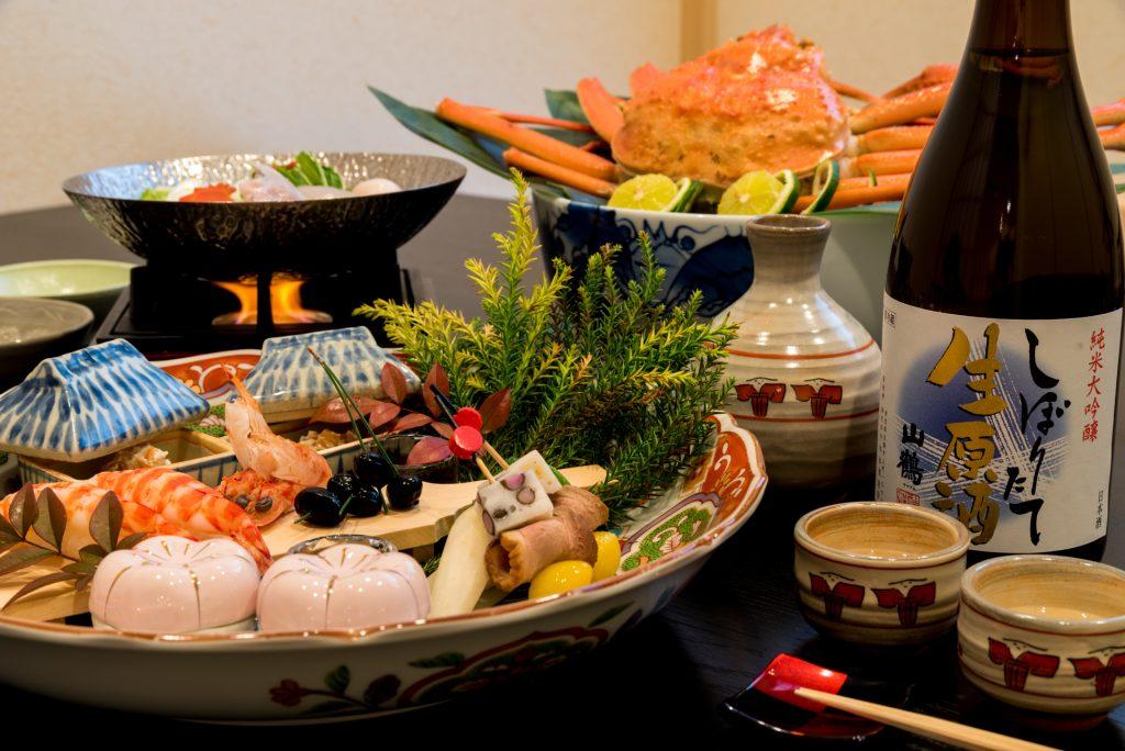 本格和食店「和 あすか」冬の料理