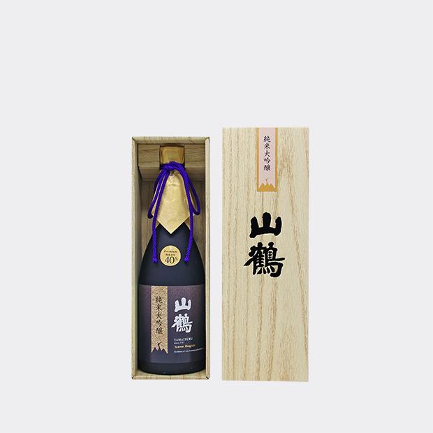 山鶴 純米大吟醸 プレミアム(YP-35) 720ml