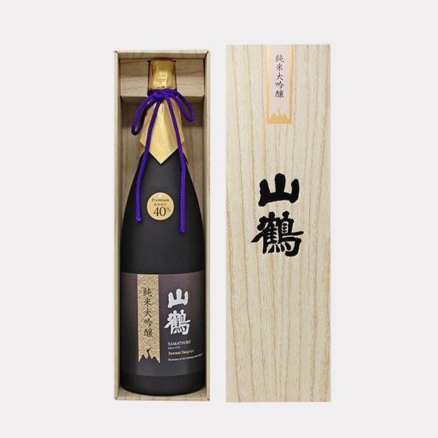 山鶴 純米大吟醸 プレミアム(YP-65) 1.8L